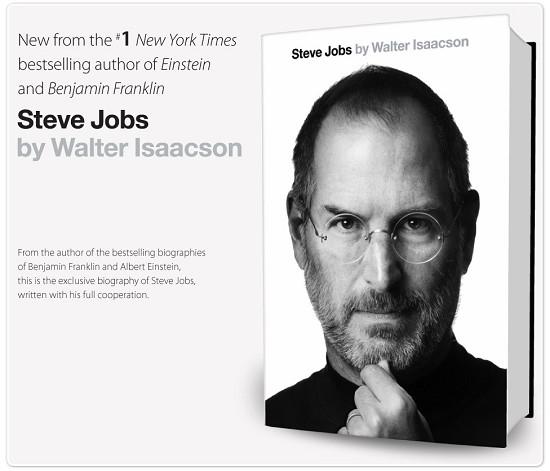 42cd6603840 La biografia ufficiale di Steve Jobs è da oggi disponibile su ...