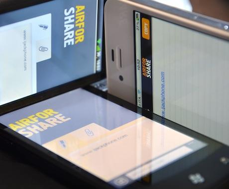 copiare foto da iphone a pc wifi