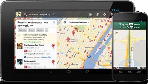 navigatore satellitare gratis per tablet