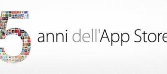 5 anni dell'app store