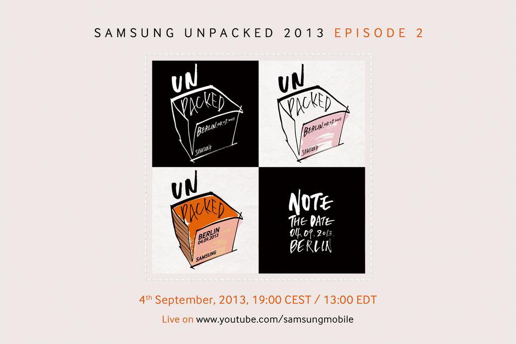 Samsung galaxy note 3 event