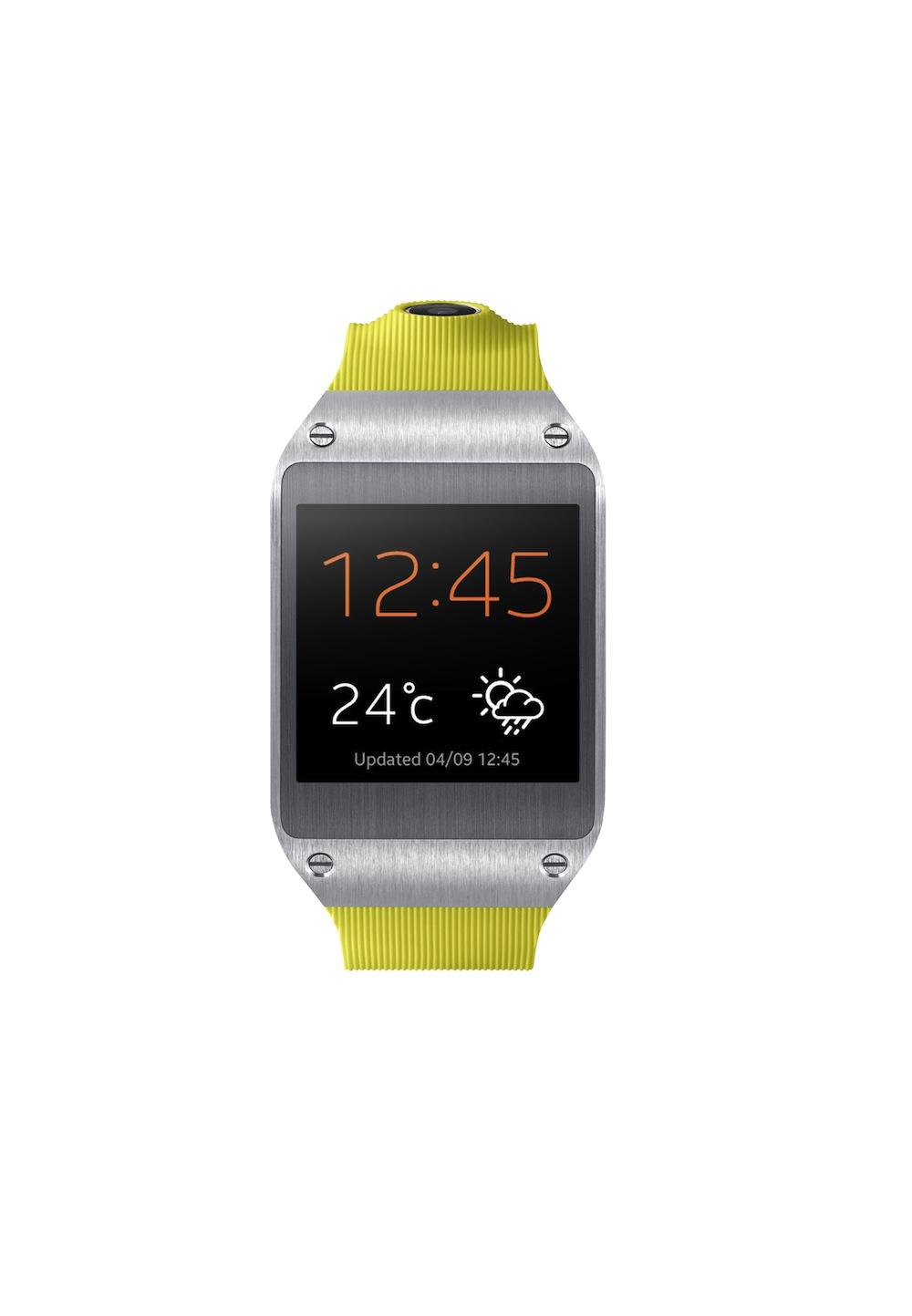 Samsung galaxy gear il primo orologio smart per gestire lo for Orologio della samsung