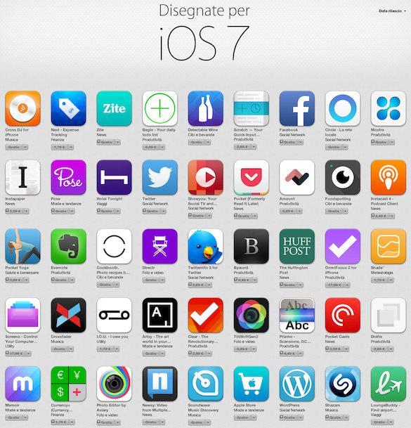 iOS7apps