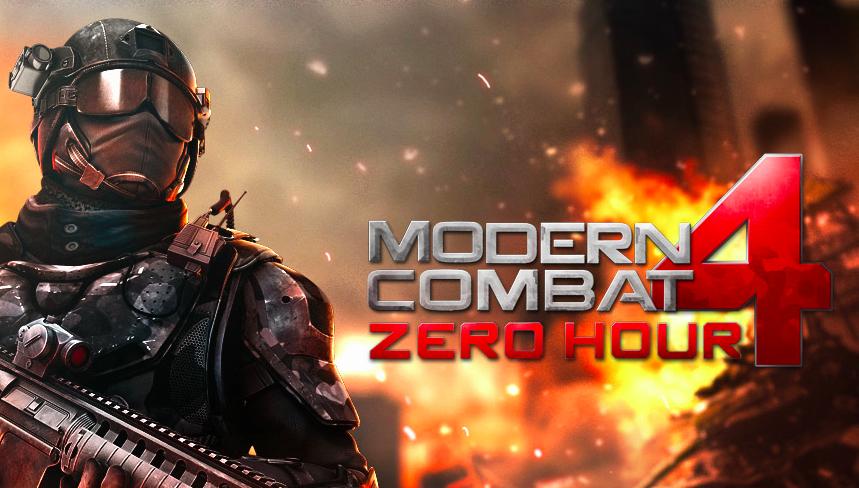 modern combat 4 ios free