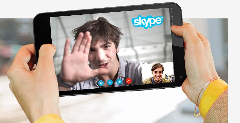 hp stream 7 skype