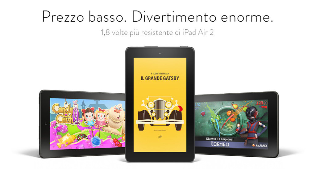 Amazon fire miglior tablet