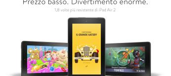 Amazon fire miglior tablet