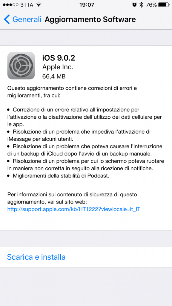 ios 9.0.2 iphone 6