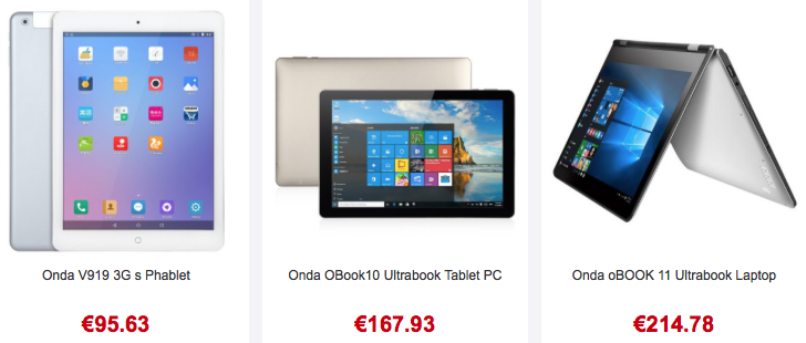 onda tablet pc
